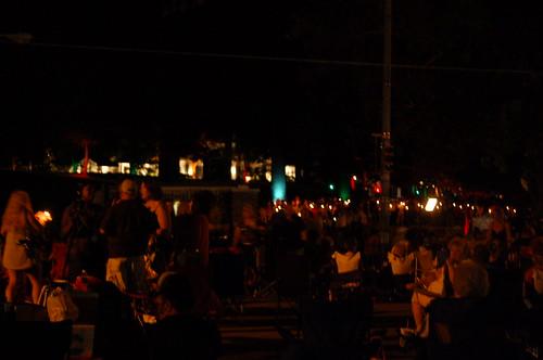 Candle Light Vigil, Graceland, Memphis, Tenn.