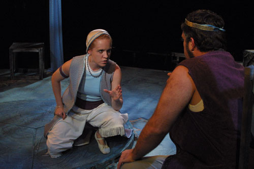 Kate Magill: Camillo, Josh Drumwright: Leontes