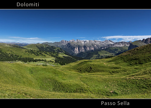 Passo Sella - Dolomites - UNESCO World Heritage Site