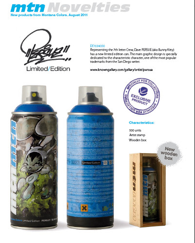 persue tilt limited edition mtn MONTANA cans