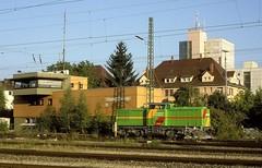 WAB 15  Tübingen  22.08.00 (w. + h. brutzer) Tags: analog train germany deutschland nikon eisenbahn railway zug trains locomotive wab tübingen lokomotive diesellok eisenbahnen dieselloks webru
