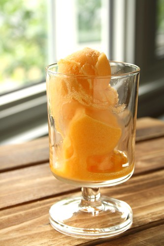 Cooking Light's Sparkling Apricot Sorbet
