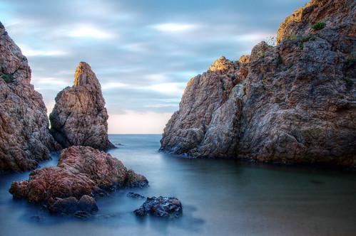 [フリー画像] 自然・風景, 海, 海岸, スペイン, 201108201900