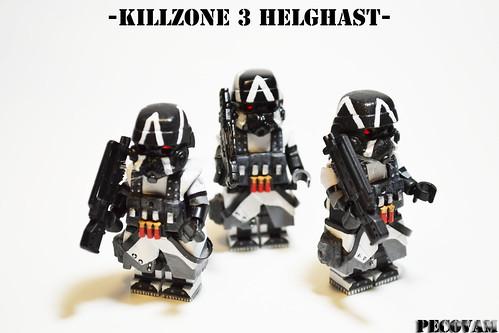 Custom minifig Killzone 3 Helghast