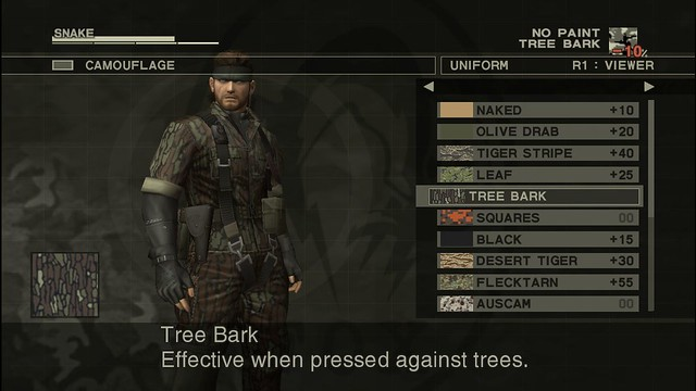 Metal Gear Solid 3: Snake Eater HD - Camouflage