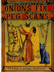 Onions Fix Peg Scans (Kollage Kid) Tags: collage cat lizard onions peg washing