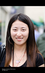 56/100 Zoe (The Urban Scot) Tags: street portrait woman zoe leicestershire leicester chinese strangers streetscene streetphoto streetphotos streetshot 50mm18 nikkor50mm18 100strangers nikond5100