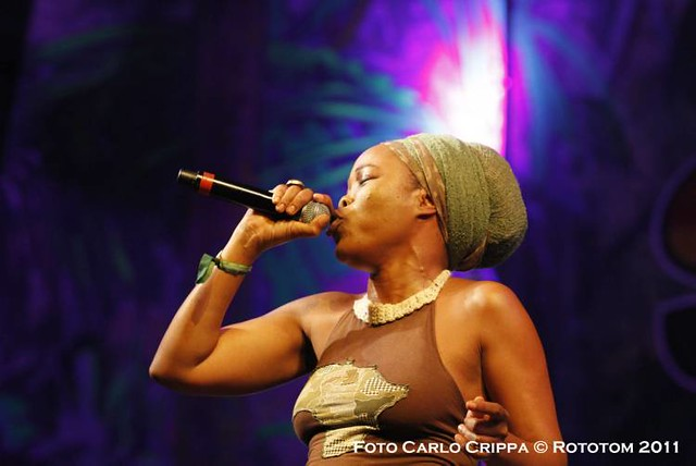 Queen Ifrica ROTOTOM SUNSPLASH