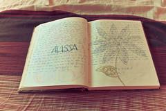 High School Memories (quaintsoul) Tags: bear school flower girl pen handwriting canon eos rebel book high teddy diary memories journal alissa tint memory page xs mags tumblr 1000d maghopoy