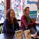 Jennifer Egan and Karen Russell Signing