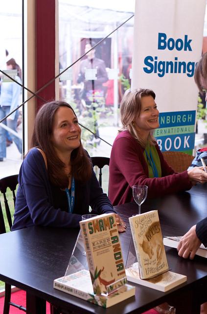 Jennifer Egan and Karen Russell Signing