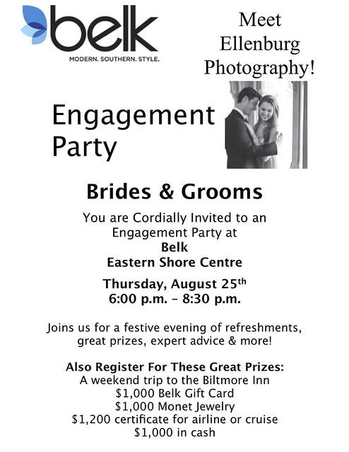 Engagement Party  Large Flyer