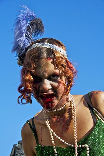 Vancouver Zombie Walk 2011 - Zombie Flapper