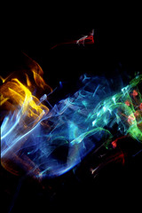 Space Storm (Reciprocity) Tags: reciprocity refractograph light refraction diffraction caustics glass analogue art lightart abstract lenslessphotography photogram colours lightwaves storm space experimentalphotography 35mm film fujit64 s7436 ls97 bs332 turbulence
