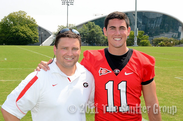 Me with Aaron Murray