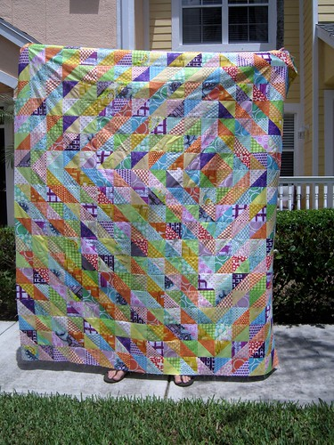 HST Quilt Top - finished!