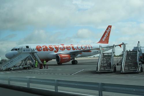 easyJet A320 @ Bristol Airport