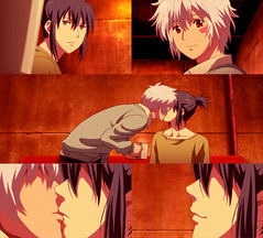 No.6 kiss cap7 ^^ (Manami chan) Tags: anime manga no6 shion nezumi