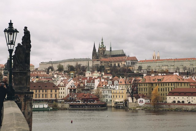 View In-n-around and getting lost in Praha. →