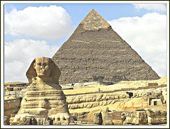 The Great Sphinx and King Khafra's Pyramid II!! [Explored on August 24, 2011] (medaibl) Tags: ancient egypt cairo egyptian temples giza greatsphinx gizapyramidsplateau kafrapyramid medhathi mygearandme mygearandmepremium mygearandmebronze mygearandmesilver mygearandmegold mygearandmeplatinum mygearandmediamond dblringexcellence tplringexcellence