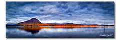 Lake Moogerah (ii), Queensland (Matthew Stewart | Photographer) Tags: trees light red lake reflection water sunrise dead still highway mt dam australia brisbane qld queensland cunningham alford moogerah