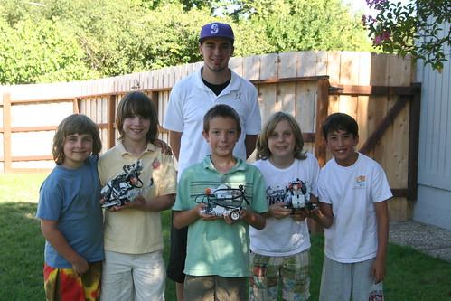 LEGO Robotics Camp Group