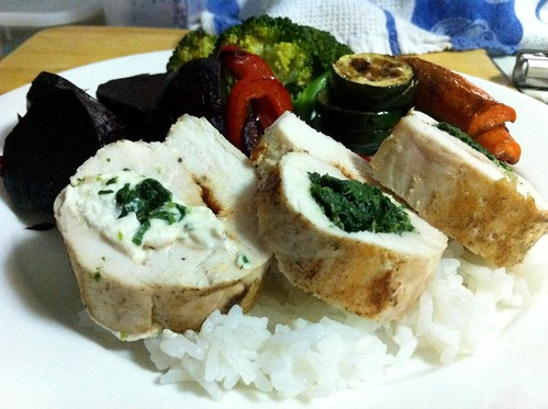 Chicken Roulade with Spinach & Ricotta by mjd-s
