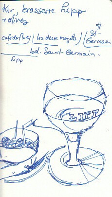 Apero at Brasserie Lipp