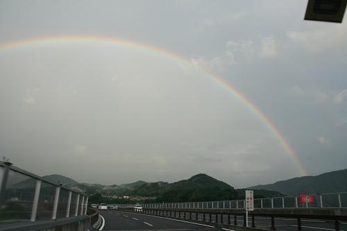 二重の虹@奈良県-04