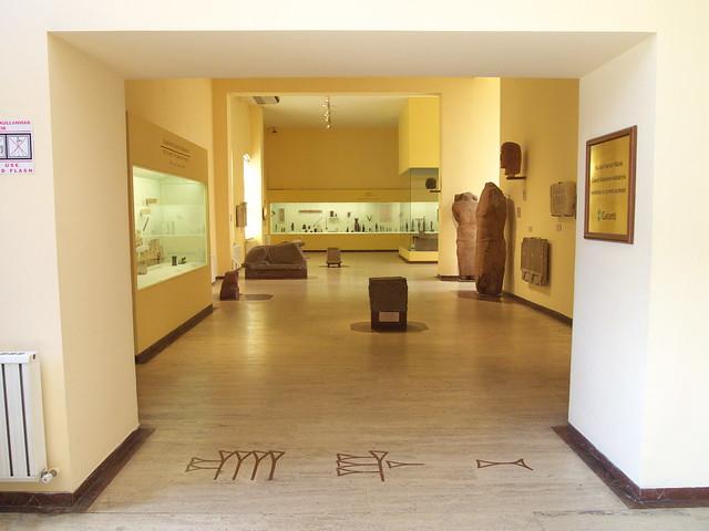 古代東方博物館的入口