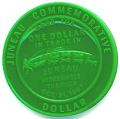 1967b Alaska Purchase Centennial Trade Dollar