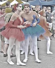 Halsted Street Market Days (tacosnachosburritos) Tags: street party summer chicago festival dancing market days journey transvestite trans swimsuit crossdresser halsted