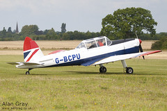 G-BCPU DE HAVILLAND CANADA DHC-1 CHIPMUNK 22 C10839  - 110828 - Little Gransden - Alan Gray - IMG_0690