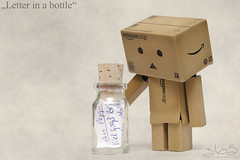 Letter in a bottle (Oliver Totzke) Tags: macro ex toy dc bottle nikon message sigma days letter 365 f28 danbo 1850mm revoltech danboard d7000