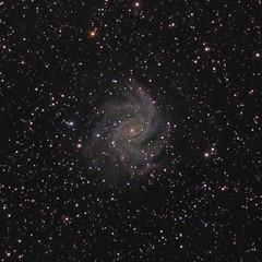 Fireworks Galaxy Redux (Joshua Bury) Tags: longexposure stars spiral galaxy nebula astrophotography astronomy cepheus sbig c12 halpha ngc6946 cgem c925 Astrometrydotnet:status=solved st4000xcm Astrometrydotnet:version=14400 fireworksgalaxy Astrometrydotnet:id=alpha20110986907109