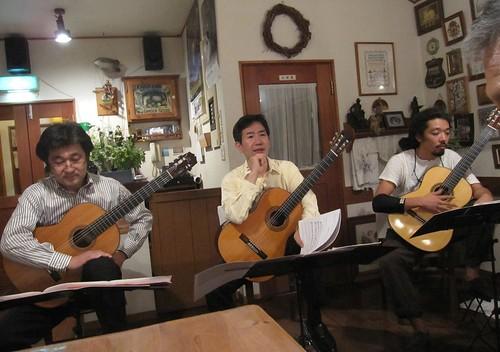 稲垣氏田口氏松田氏三重奏 2011年8月26日 by Poran111