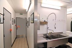 Cuisine collective (Ulna system) Tags: les de porte mains sans contamination poigne hygine