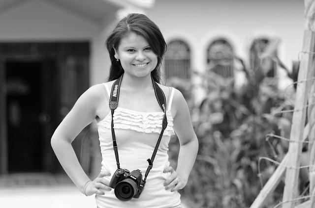 Deb & her Nikon...