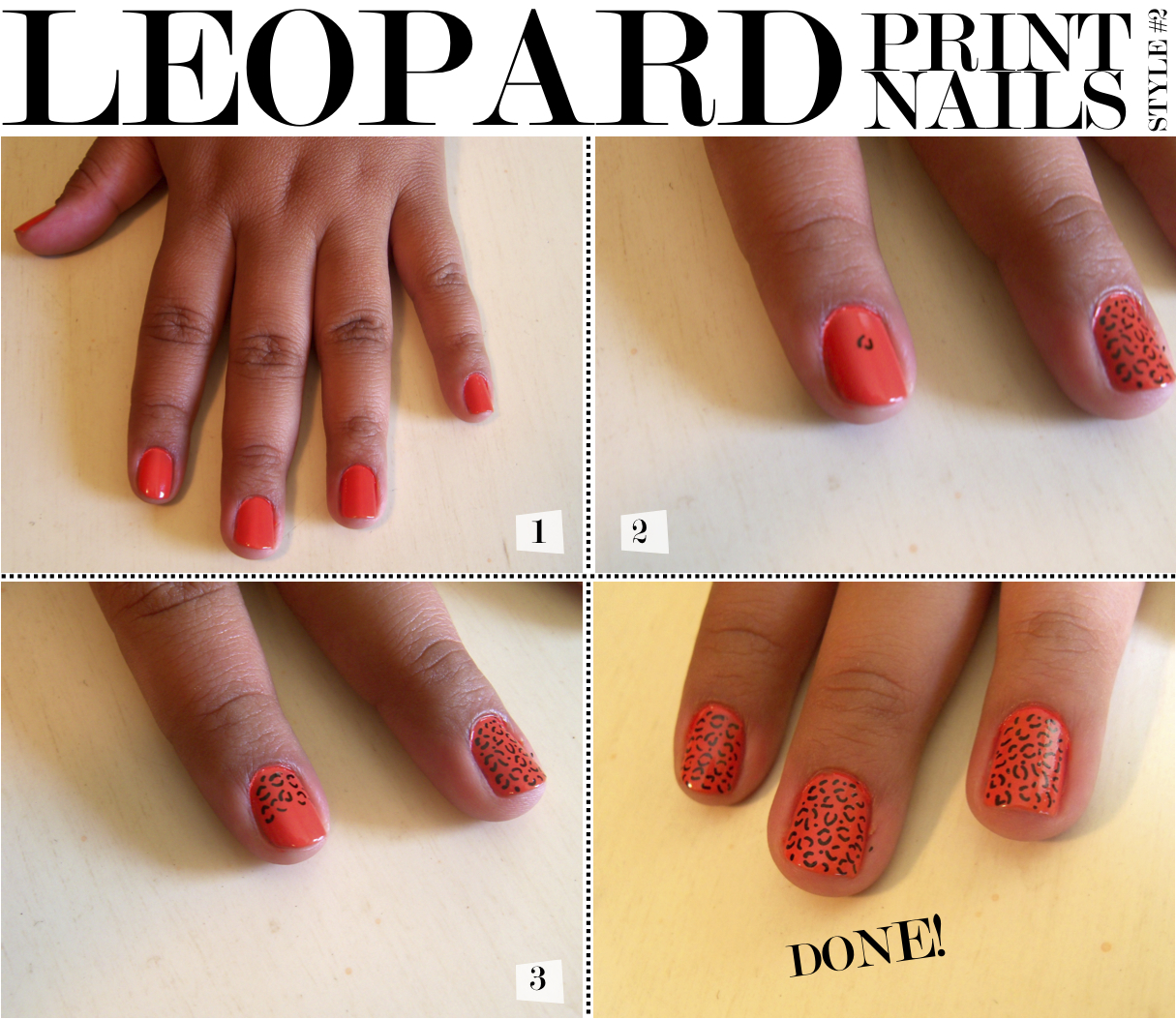 The Exciting Cheetah print nail designs 2015 Digital Imagery