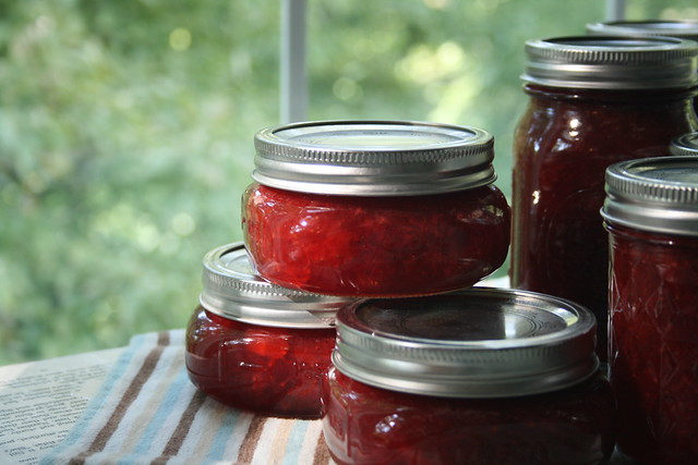 strawberry vanilla jam