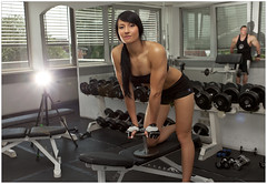 KathrinTraining5 (alexander.heise) Tags: women exercise bodybuilding workout fitness pumpiniron