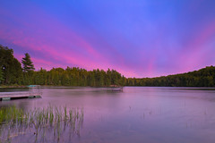 Sunset on Long Lake in Harcourt Park, Ontario (Christopher Brian's Photography) Tags: ontario canada ultrawideangle harcourtpark canoneos7d tokina1116mmf28atx116prodx