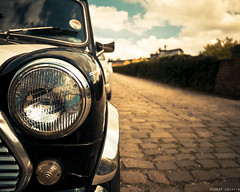 almost countryside (mini cooper) (Andre Delhaye) Tags: street old uk greatbritain england colour brick car vintage manchester lumix photography golden ancient colours photographer dof mini retro andre panasonic amarillo amarelo cooper minicooper pancake g3 43 csc andre m43 14mm mft mirrorless delhaye micro43 microfourthirds 43 andredelhaye andredelhayecom wwwandredelhayecom wwwandredelhayenet andredelhayenet 14mmf25 14mmf25asph lumix14mmf25 delhayeandre lumixg3 dmcg3 panasonicg3 andredelhayephotographer demcg3
