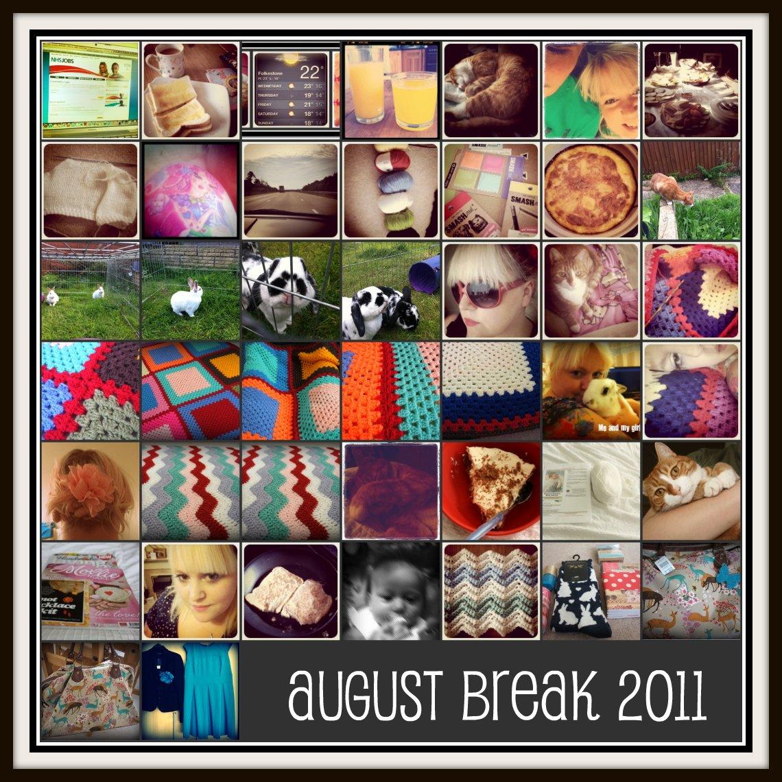 August Break Collage