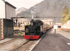 Mountaineer (R~P~M) Tags: uk greatbritain wales train unitedkingdom railway steam locomotive narrowgauge worldwar1 gwynedd alco blaenauffestiniog