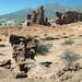 Le formazioni rocciose che ricordano quelle del Talampaya (Quebrada de Cafayate)