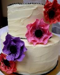 Anemones (Sugar Daze) Tags: cake anemone