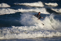 Maroubra Fly (Sam Lodge) Tags: ocean sea summer sun beach water canon surf waves sydney australia surfing 7d maroubra 55250mm