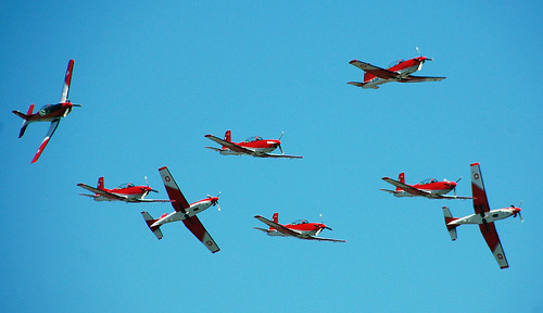 Swiss Air force PC 7 Team