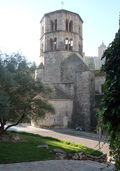 Monestir de Sant Pere de Galligants, Gerona, bell tower (rear)